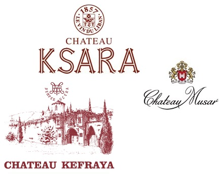 Los tres grandes: Ksara, Kfraya y Musar